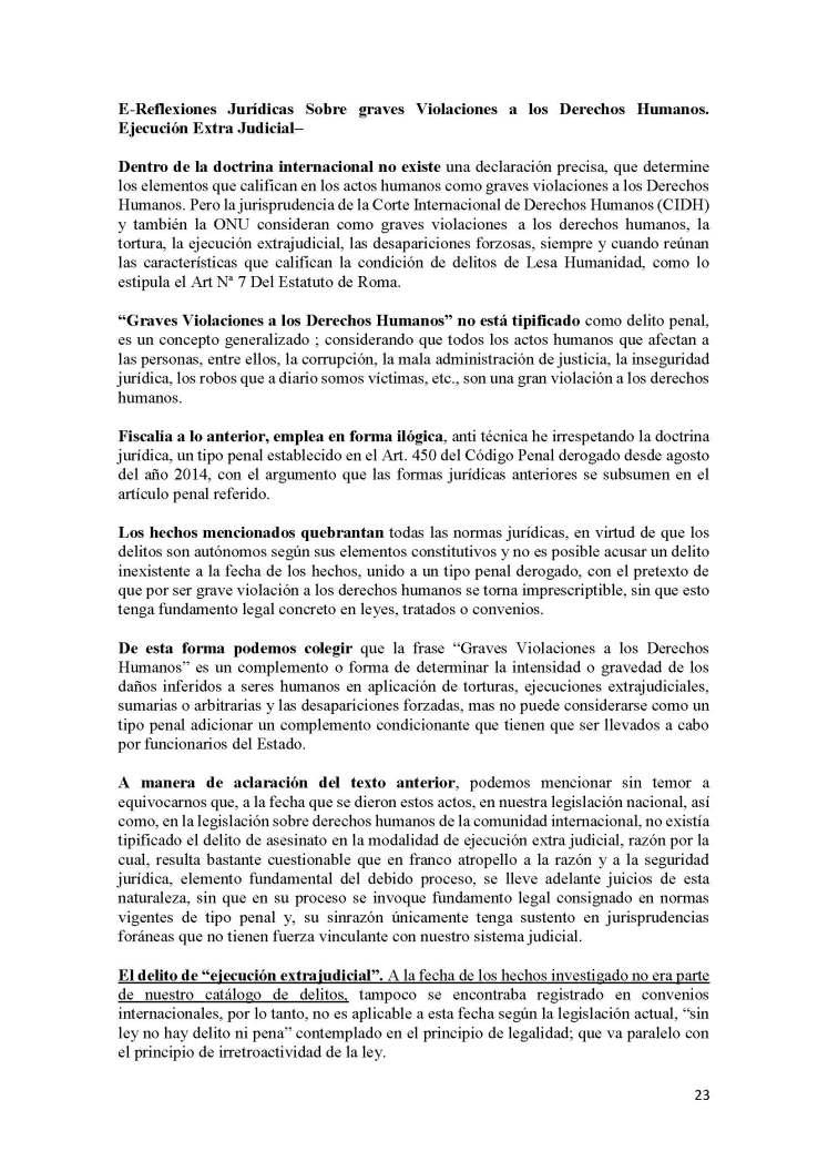 INFORME PARA EL SR. PRESIDENTE DE LA REPUBLICA DEL ECUADOR LIC. LENIN MORENO_Page_23