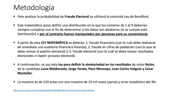 Análisis AMPLIADO probabilidad FRAUDE electoral – Elecciones Alcalde UIO 2019 26