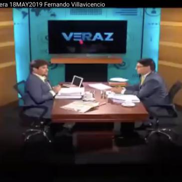 replica de Fernando Villavicencio