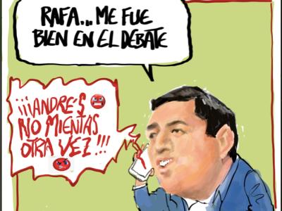 #AndresNoMientasOtra_vez